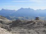 Berggasthaus Piz Boe in den Dolomiten/Südtirol