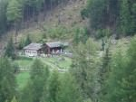 Zetnalm-Hütte 1747m am Nörderberg in Naturns