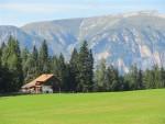 Heinzen-Almhuette in den Dolomiten
