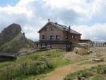 Rotwandhütte in den Dolomiten