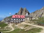 Tierser-Alpl-Huette Seiseralm Südtirol