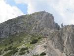 Gipfelanstieg zum Weissenhorn
